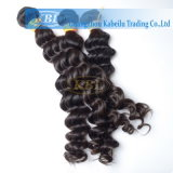 Produto de cabelo humano profundo indiano da onda