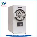 Hospital cilíndrico horizontal e Sterilizer médico do vapor da pressão com impressora