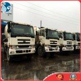 6X4 / Izquierda-mano-conducción utilizado Diesel Nissan-Ud especial Camión mezclador de concreto (PF6-360HP, 9m3)