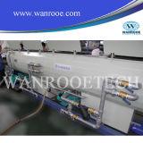 Linha rígida máquina da produção da tubulação de fonte da água do PVC do plástico da alta qualidade da extrusora da tubulação