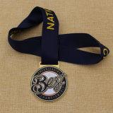 Подгонянное самое лучшее медаль металла чемпионата Cheerleading