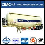 Cimc三車軸セメントのBulkerのトレーラー/バルクセメントのトレーラーのセメントのタンカー