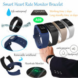 Braccialetto astuto di Bluetooth con il video di frequenza cardiaca e di pressione sanguigna