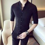 عادة [100كتّون] معيار عادية رجال قميص