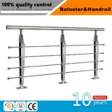 屋内のための304/316のステンレス鋼階段柵