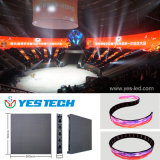 Pantalla de visualización flexible de la cortina del contexto LED de la etapa
