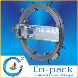 Machine de façade montée à bride hydraulique rapide portable