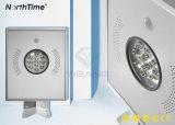 12W à LED intégrée de produits de plein air d'éclairage de rue lumière solaire