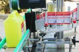 Frascos redondos de controlo PLC máquina etiquetas vertical