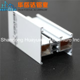 장식적인 실내 알루미늄 단면도 유리제 문 목욕탕 문 또는 분말 코팅 알루미늄 단면도