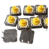 SGS Encendido Electrónico de metal resistente al agua de 4 pins Dust-Proof tact switch (KSS-0EG5150)