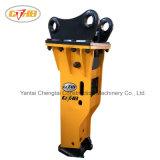 Interruttore concreto idraulico a forma di scatola dell'escavatore