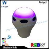 Lampadina a distanza astuta dell'altoparlante LED di RGB WiFi Bluetooth di controllo del telefono