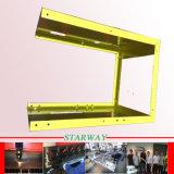 Piezas modificadas para requisitos particulares de la fabricación de metal de hoja para el recinto revestido y el indicador digital de cristal (corte del laser/doblez) del ordenador del polvo