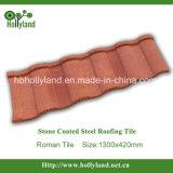 Telha revestida de pedra do metal para o uso da telhadura (tipo romano)