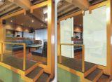 Vidrio elegante de la alta de la transparencia película de Dimmable Pdlc para el edificio