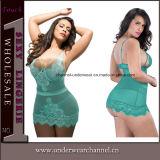 """Por atacado mais a roupa interior """"sexy"""" do vestido da noite do roupa interior das mulheres do tamanho (T31002-2P)"""