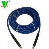 Flexible en caoutchouc bleu de haute qualité pour la rondelle de pression de la rondelle d'alimentation flexible de remplacement