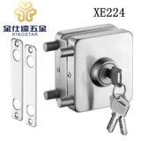 Стеклянные двери из нержавеющей стали для блокировки безрамные стеклянные двери установки фиксатора замка XE224