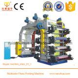 Impressora de impressão em cores Flexo 4 de alta velocidade para venda