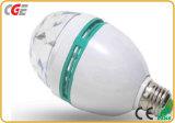 LED Full Color Rotating Lamps 3W/5W E27/B22 RGB Spotlight LED Earth Bulb Mini LED Party Lights