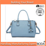 Lichtblauwe Dame Handbags Factory Supplier Accept Aanpassing (bdx-171119)