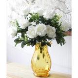 Оптовая продажа пука цветка Rose рабата искусственная