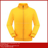 Unisex Hoodies Veste en tricot plus grossiers cationiques Stitching-Color Sports Wear (T262)