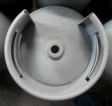 12.5kg Cilindro de gas Gas de la línea de fabricación de la línea Metalizing Zinc