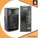 15 Spreker van Bluetooth van de Macht van de duim de Professionele 200W Plastic Actieve met FM pS-2615abt
