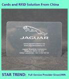 Cartão de lavagem de carros feitos de plástico para laminação brilhante Membro