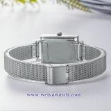 Ремешок из натуральной кожи для изготовителей оборудования дамы кварцевые часы, Wist Леди смотреть (WY-17034B)
