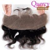13*4 크기 스위스 레이스 바디 파 자연적인 색깔 러시아 머리 레이스 정면 (FC-030d)