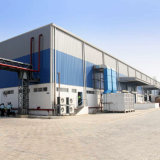 Fertigaufbau-Entwurfs-Stahlkonstruktion-Lager