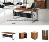 옆 테이블 Lockable 주춧대를 가진 사무실 책상 행정상 테이블