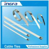 304 Band van de Kabel van het Roestvrij staal van 316 Rang de Hittebestendige met Ce ISO UL