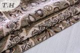 Ткань жаккарда ткани синеля мебели драпирования большая флористическая для софы