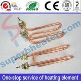 Calefator tubular de cobre da tubulação de aquecimento dos potenciômetros do café da produção e das vendas