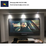 3D/Ecran de projection numérique 4K, étroit de l'écran à châssis fixe