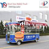 Distributeur automatique de véhicule d'aliments de préparation rapide avec l'homologation de la CE