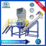Отходы переработки ПЭТ дробления стиральная машина/линии заводская цена