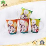Tazza di caffè di ceramica di Cina di osso di colore dolce delle 10 once nuova