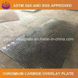 Plaque abrasive d'usure de carbure de chrome