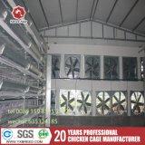 Nuove gabbie impilate di strato della rete metallica della strumentazione dell'azienda avicola