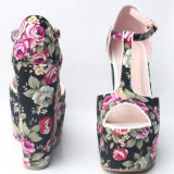 2018 Design bonito mulheres Sapatos de salto alto de casamento