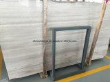 建物の装飾のためのギリシャおよび中国Biancoの木の白い大理石の平板