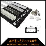 Micro profilo dell'alluminio LED con la larghezza interna di 11mm per la striscia del LED (SJ-ALP1506)