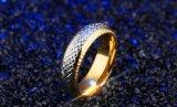 De nieuwe Juwelen van het Huwelijk van de Luxe van de Ring van de Mensen van de Manier van het Interval van de Aankomst Gouden Zilveren