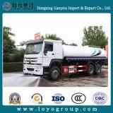 Sinotruk HOWO 6X4 336HP 20000L de agua caliente de venta de camiones de rociadores