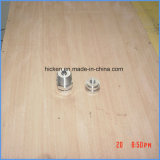 Части машинного оборудования точности CNC центральные